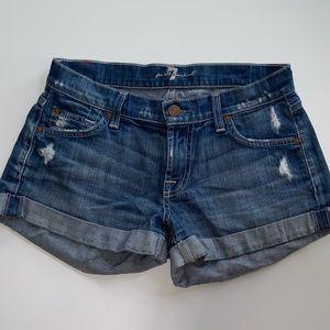 7 jean shorts